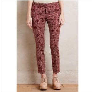 {Anthropologie} Cartonnier Charlie Trousers